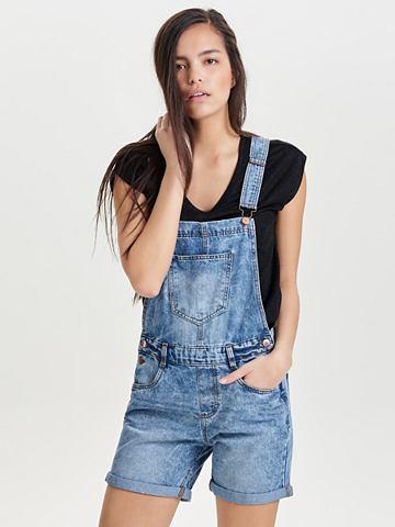 JACQUELINE DE YONG Джинсовый брюки с подтяжками