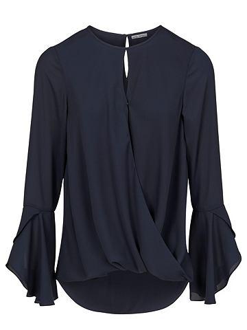 Блуза с ложным запахом
