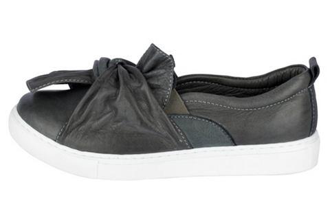 Туфли-слиперы с стильный узел