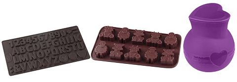 DR. OETKER Schokoladenform »Buchstaben &...