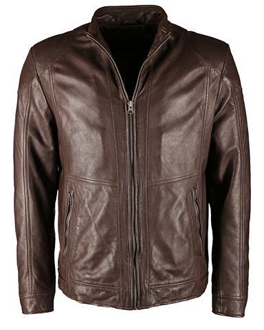 Спортивный куртка кожаная с Zipper &ra...