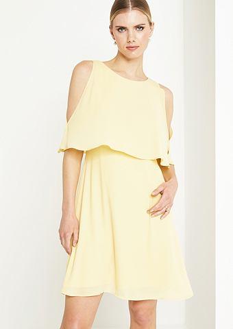 Нежный платье в многослойный эффект