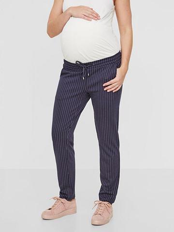 Полосатый брюки для беременных