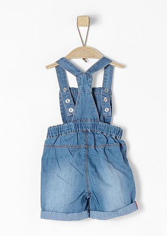 Короткий комбинезон джинсовый для Baby...
