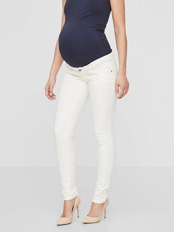 Одноцветный джинсы для беременных