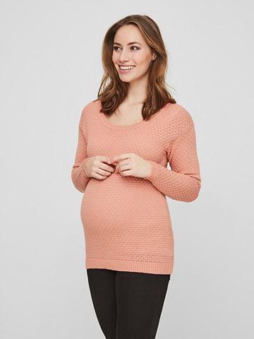 Вязаный блузка для беременных