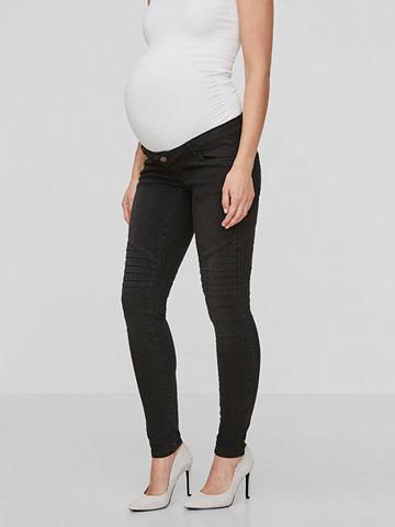 Узкий форма джинсы для беременных