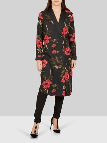 Blumiger пуговица кимоно халат