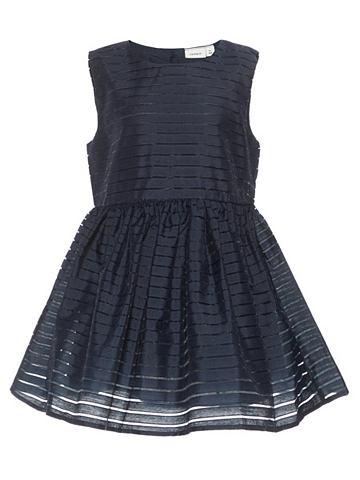 Полосатый платье без рукав