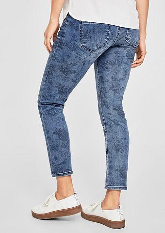 Shape Укороченные джинсы с цветочным у...