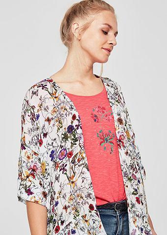 Пиджак- рубашка из крепа