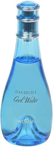 "DAVIDOFF Eau de Toilette ""Cool Water Woman..."
