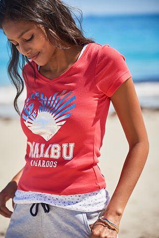 KANGAROOS Kanga ROOS футболка (Набор 2 части с T...