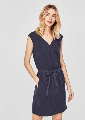 Короткое платье из лиоцелл