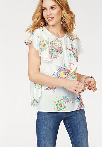 Блузка из крепа »ALAIA«