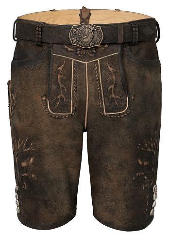 SPIETH & WENSKY Spieth & Wensky брюки кожаные Gome...