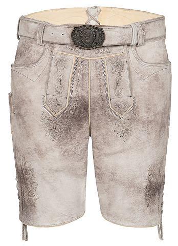 SPIETH & WENSKY Spieth & Wensky брюки кожаные Gabr...