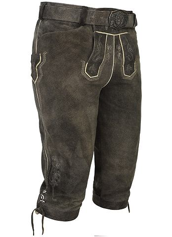 SPIETH & WENSKY Spieth & Wensky брюки кожаные Erha...