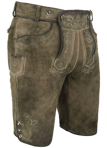 Spieth & Wensky брюки кожаные Mich...