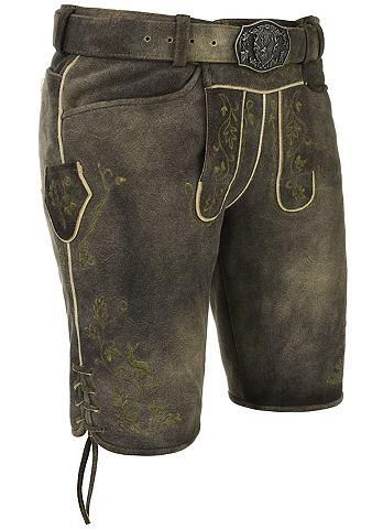 SPIETH & WENSKY Spieth & Wensky брюки кожаные Adon...