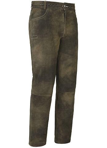 Spieth & Wensky брюки кожаные Tass...