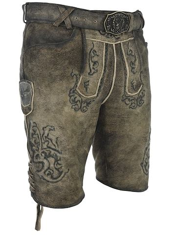 SPIETH & WENSKY Spieth & Wensky брюки кожаные Bruc...
