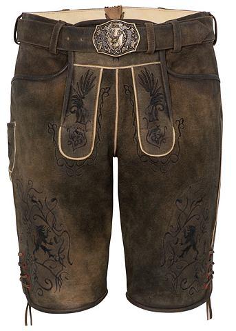 SPIETH & WENSKY Spieth & Wensky брюки кожаные Arab...