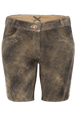 Spieth & Wensky брюки кожаные Walz...