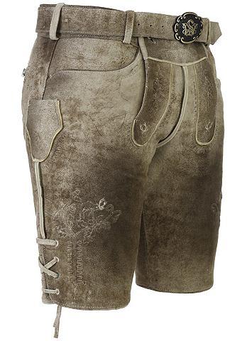 SPIETH & WENSKY Spieth & Wensky брюки кожаные Barn...