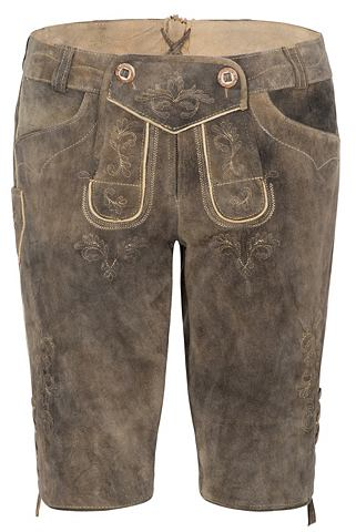 Spieth & Wensky брюки кожаные Bich...