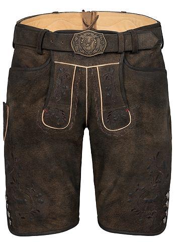 Spieth & Wensky брюки кожаные Geor...
