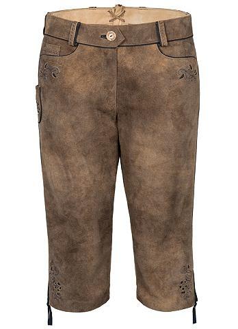 Spieth & Wensky брюки кожаные Gael...