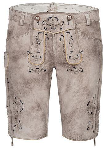 Spieth & Wensky брюки кожаные Gund...