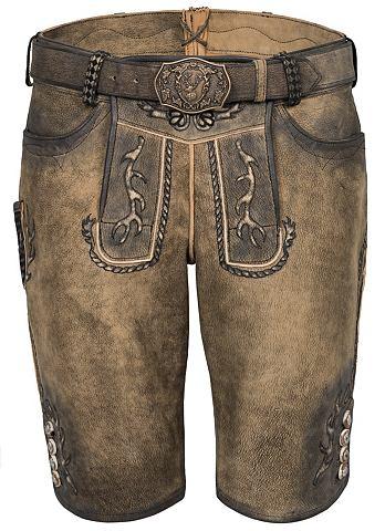 Spieth & Wensky брюки кожаные Gonz...