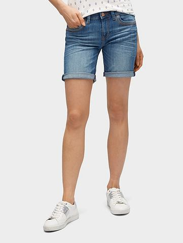 TOM TAILOR Бермуды джинсовые »Alexa шорты ш...