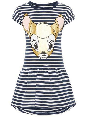 NAME IT Полосатый Bambi-Print платье