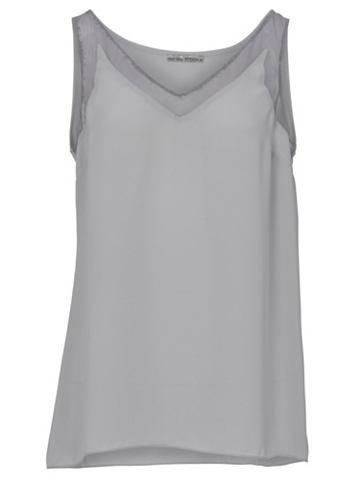 Блузка-топ с с V-образным вырезом