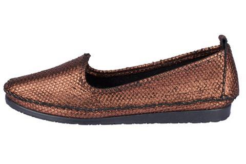 Туфли-слиперы в Metalliclook