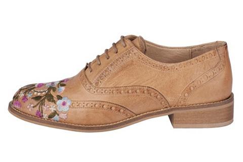 Туфли на шнуровке с Budapester-Lochmus...