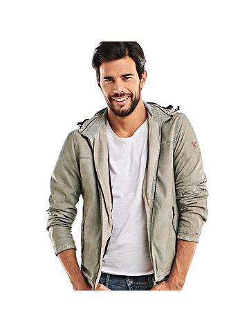 EMILIO ADANI Куртка кожаная в perforierter имитация...