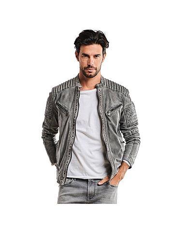 Куртка кожаная с Bikerdetails