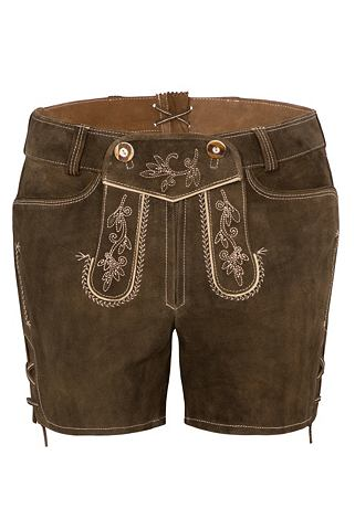 Spieth & Wensky брюки кожаные Vera...