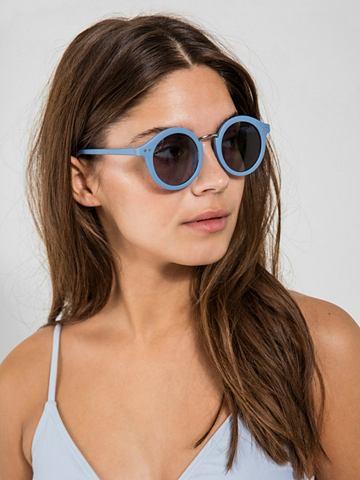 Runde одноцветный солнцезащитные очки