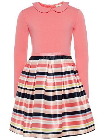 Полосатый платье