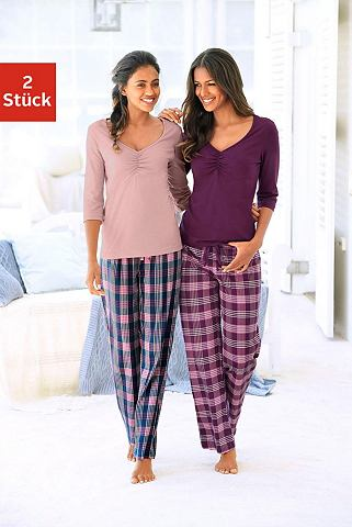 Пижама (2 единицы mir клетчатый брюки