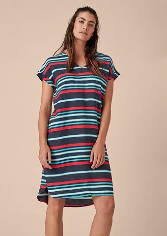 Lockeres платье с Streifenprint