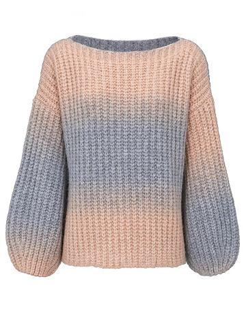 Пуловер с u-boot вырез