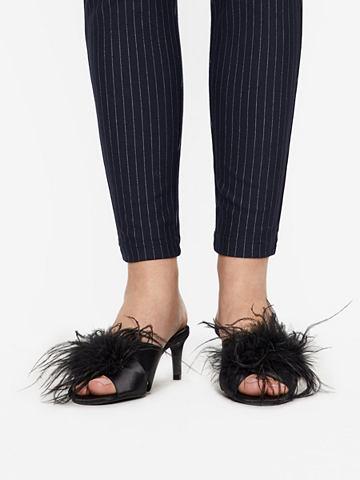 Искусственный мех туфли