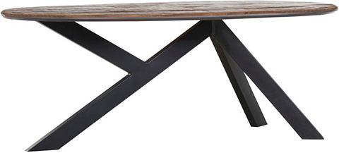Обеденный стол с Тарелка из Mangoholz