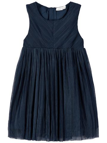 Plissiertes тюль платье